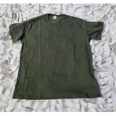 Μακό μπλουζάκι υπερμέγεθος ARM'S,χρώματος χακί,100%βαμβακερό