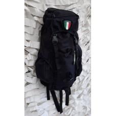 Σακίδιο RECON ITALY 35Lt Black,χρώματος μαύρο με επίστρωση από pu ύφασμα