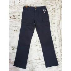Παντελόνι MRK,χρώματος μπλε με διπλές ραφές