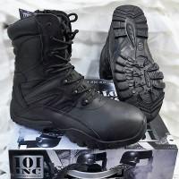 Άρβυλα Tactical Recon μαύρα 100% δερμάτινα