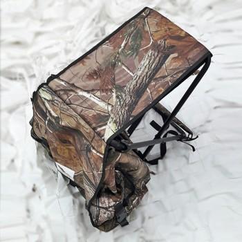 Σκαμνάκι αλουμίνιο με τσάντα πλάτης