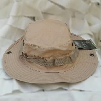 Καπέλο jungle χρώματος μπεζ..