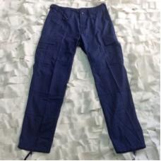 Παντελόνι ARM'S σε μπλε χρώμα 100% βαμβακερό ύφασμα rip-stop
